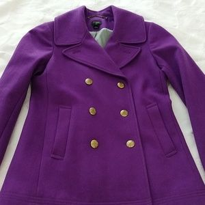 Pretty Purple Peacoat